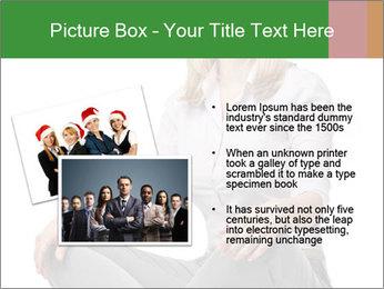 Sit woman PowerPoint Template - Slide 20