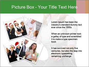 Sit woman PowerPoint Template - Slide 23