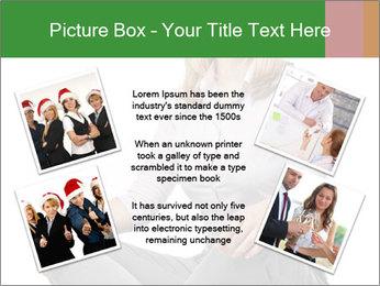 Sit woman PowerPoint Template - Slide 24