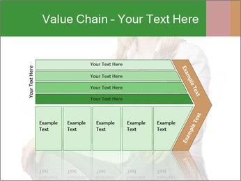 Sit woman PowerPoint Template - Slide 27