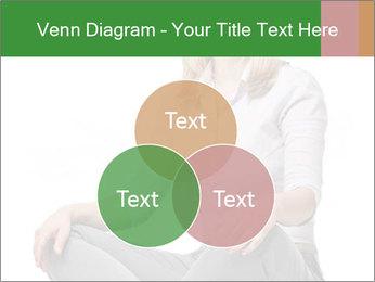Sit woman PowerPoint Template - Slide 33