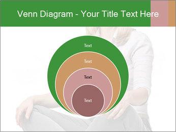 Sit woman PowerPoint Template - Slide 34