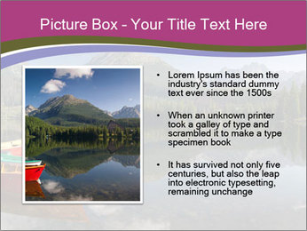 The colorful boats PowerPoint Template - Slide 13
