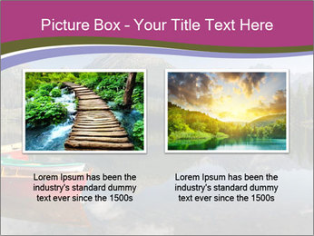 The colorful boats PowerPoint Template - Slide 18