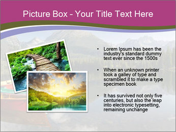 The colorful boats PowerPoint Template - Slide 20