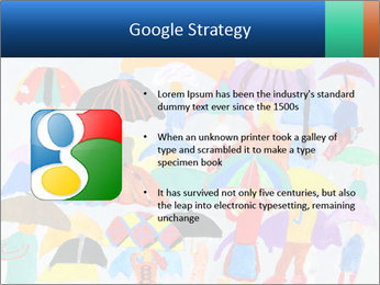 People in a multi-colored PowerPoint Template - Slide 10