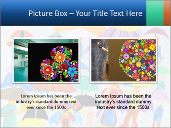 People in a multi-colored PowerPoint Template - Slide 18