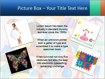 People in a multi-colored PowerPoint Template - Slide 24