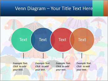 People in a multi-colored PowerPoint Template - Slide 32