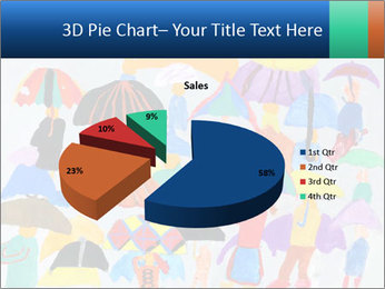 People in a multi-colored PowerPoint Template - Slide 35