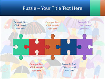 People in a multi-colored PowerPoint Template - Slide 41