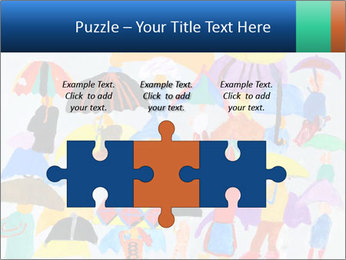 People in a multi-colored PowerPoint Template - Slide 42