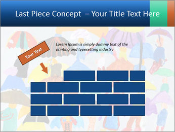 People in a multi-colored PowerPoint Template - Slide 46
