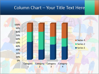 People in a multi-colored PowerPoint Template - Slide 50