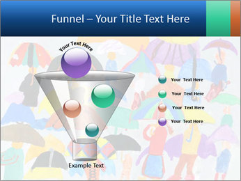 People in a multi-colored PowerPoint Template - Slide 63