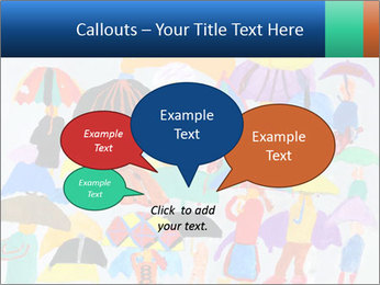 People in a multi-colored PowerPoint Template - Slide 73
