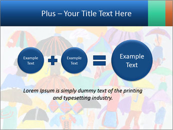 People in a multi-colored PowerPoint Template - Slide 75