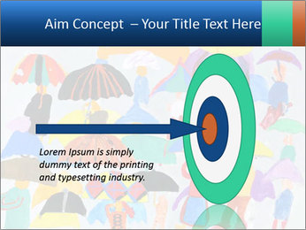 People in a multi-colored PowerPoint Template - Slide 83
