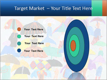 People in a multi-colored PowerPoint Template - Slide 84