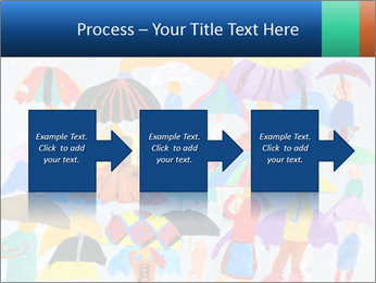 People in a multi-colored PowerPoint Template - Slide 88