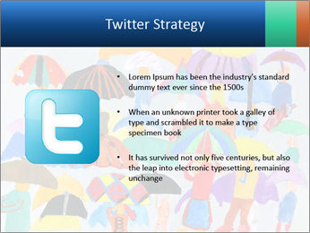 People in a multi-colored PowerPoint Template - Slide 9