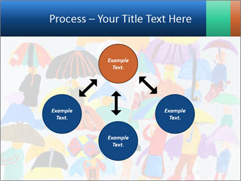 People in a multi-colored PowerPoint Template - Slide 91