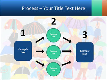 People in a multi-colored PowerPoint Template - Slide 92