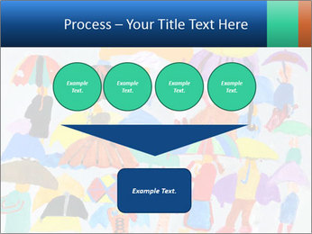 People in a multi-colored PowerPoint Template - Slide 93