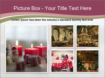 A candle PowerPoint Template - Slide 19