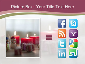 A candle PowerPoint Template - Slide 21