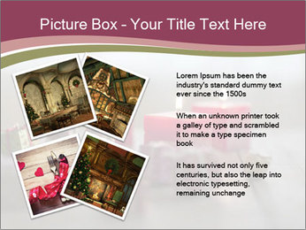 A candle PowerPoint Template - Slide 23