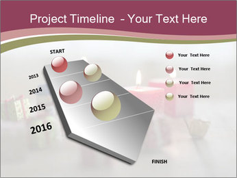 A candle PowerPoint Template - Slide 26