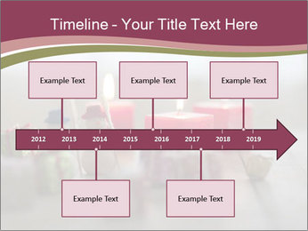 A candle PowerPoint Template - Slide 28
