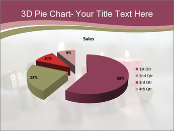 A candle PowerPoint Template - Slide 35