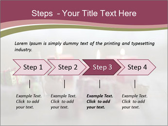 A candle PowerPoint Template - Slide 4