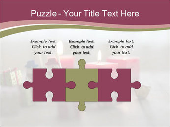 A candle PowerPoint Template - Slide 42