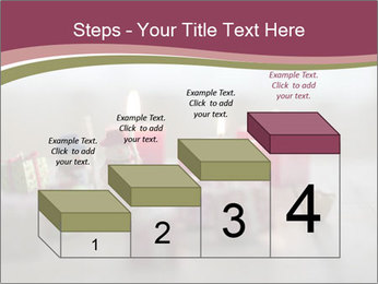 A candle PowerPoint Template - Slide 64