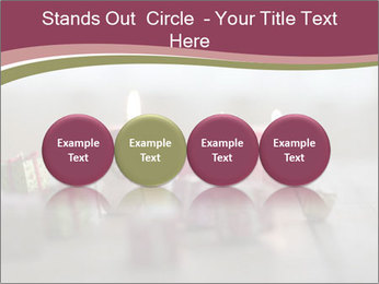 A candle PowerPoint Template - Slide 76