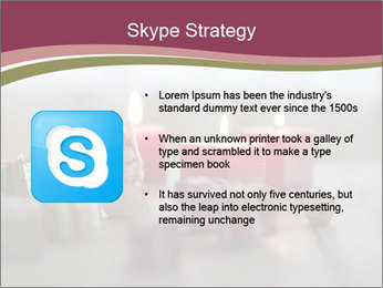 A candle PowerPoint Template - Slide 8