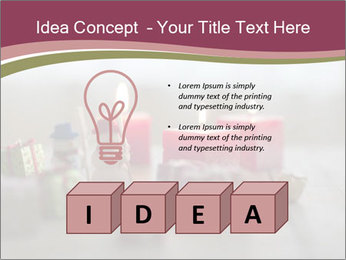 A candle PowerPoint Template - Slide 80