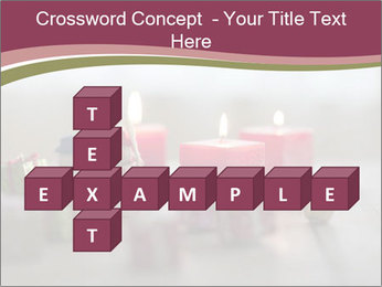 A candle PowerPoint Template - Slide 82