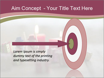 A candle PowerPoint Template - Slide 83
