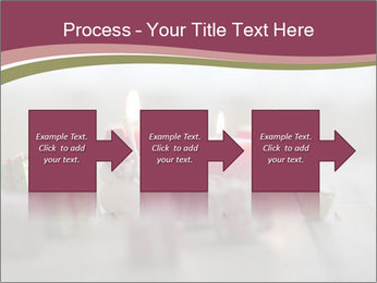 A candle PowerPoint Template - Slide 88