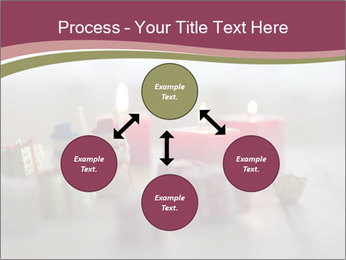 A candle PowerPoint Template - Slide 91