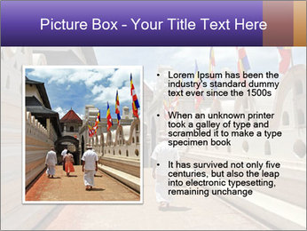 People go on ceremony PowerPoint Template - Slide 13