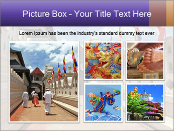 People go on ceremony PowerPoint Template - Slide 19