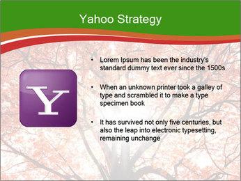 Tree autumn. PowerPoint Template - Slide 11