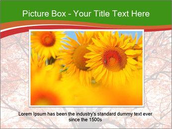 Tree autumn. PowerPoint Template - Slide 15