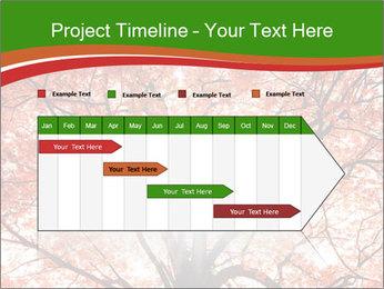 Tree autumn. PowerPoint Template - Slide 25
