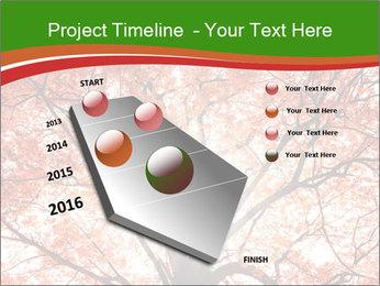 Tree autumn. PowerPoint Template - Slide 26